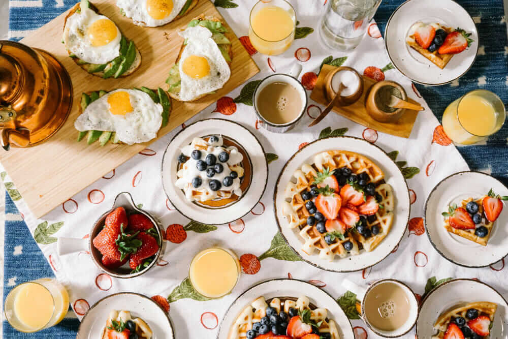 Frühstück a la nood